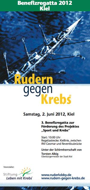 Rudern gegen Krebs 2012 in Kiel