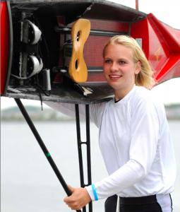 Freut sich auf neue Herausforderungen in Ratzeburg: die 15-jährige Frieda Hämmerling von der RG Germania Kiel. Foto Hornung