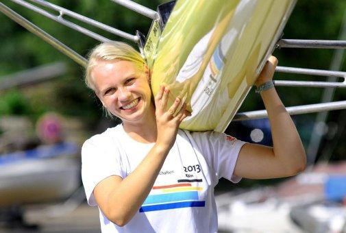 Einer, Doppelzweier, Doppelvierer: Frieda Hämmerling will unbedingt einen der sieben Plätze im deutschen Aufgebot bei der U19-Ruder-Weltmeisterschaft in Hamburg ergattern. Foto Hornung