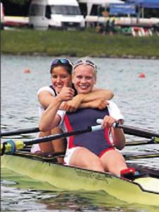 Ein tolles Team: Annemieke Schanze und Frieda Hämmerling (re.). Foto: Olympiastützpunkt