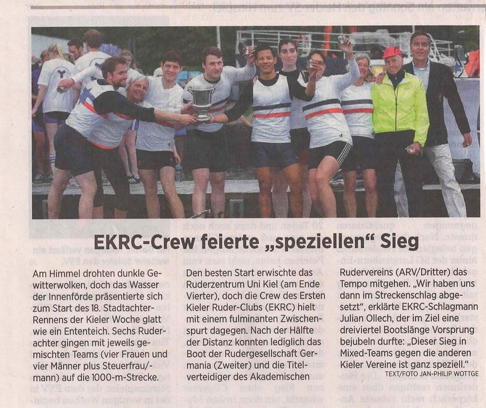 18. Stadtachter zur Kieler Woche 2015