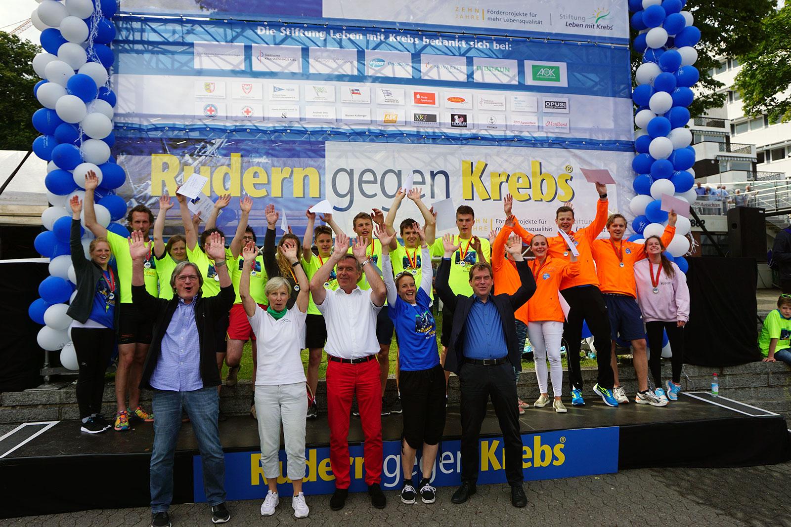 Rudern gegen Krebs in Kiel 2017