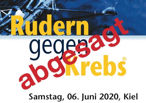 Rudern gegen Krebs 2020 in Kiel abgesagt
